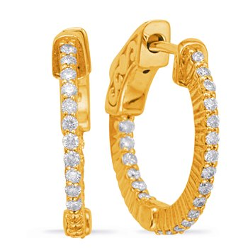 0.70 inch Securehinge Hoop Earring