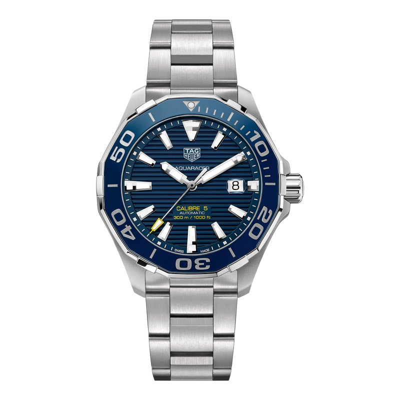 Tag Heuer - USD Aquaracer 300M Ceramic Bezel Calibre 5 Automatic Watch