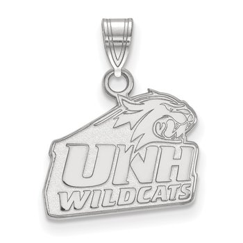 Sterling Silver University of New Hampshire NCAA Pendant