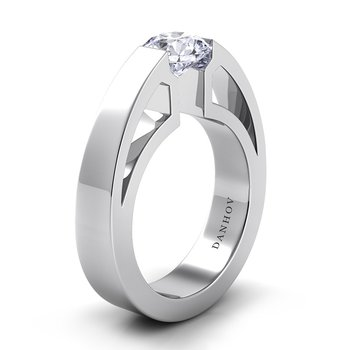 Voltaggio Single Shank Engagement Ring
