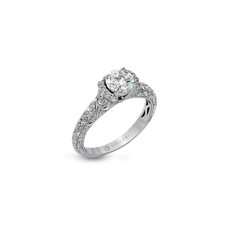 Zeghani ZR1051 ENGAGEMENT RING