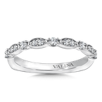Valina Stackable Wedding Band in 14K White Gold (.20 ct. tw.)