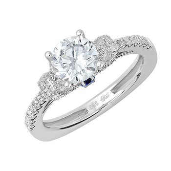 Bridal Ring-RE12637W10R