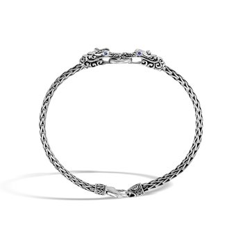 Legends Naga Station Bracelet in Silver