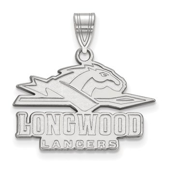Gold Longwood University NCAA Pendant