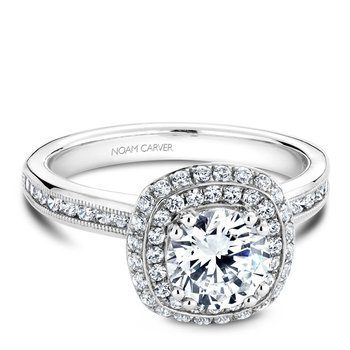 Noam Carver Vintage Engagement Ring B145-10A