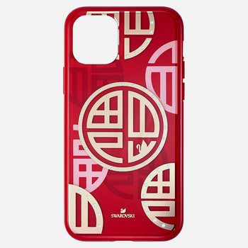 Full Blessing Fu Smartphone Case with Bumper, iPhone® 11 Pro, Red