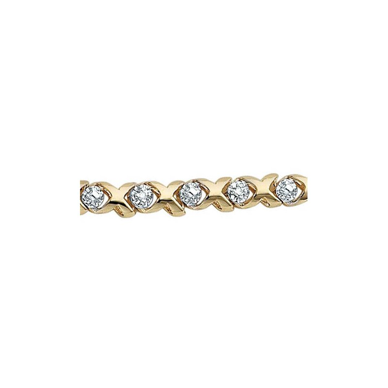 Timeless Beauty Diamond Tennis Bracelet
