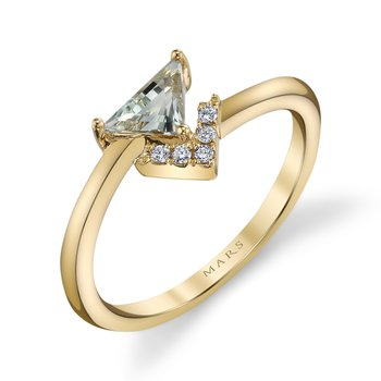 MARS 26914 Fashion Ring, 0.04 Dia. 0.34 G Ameth.