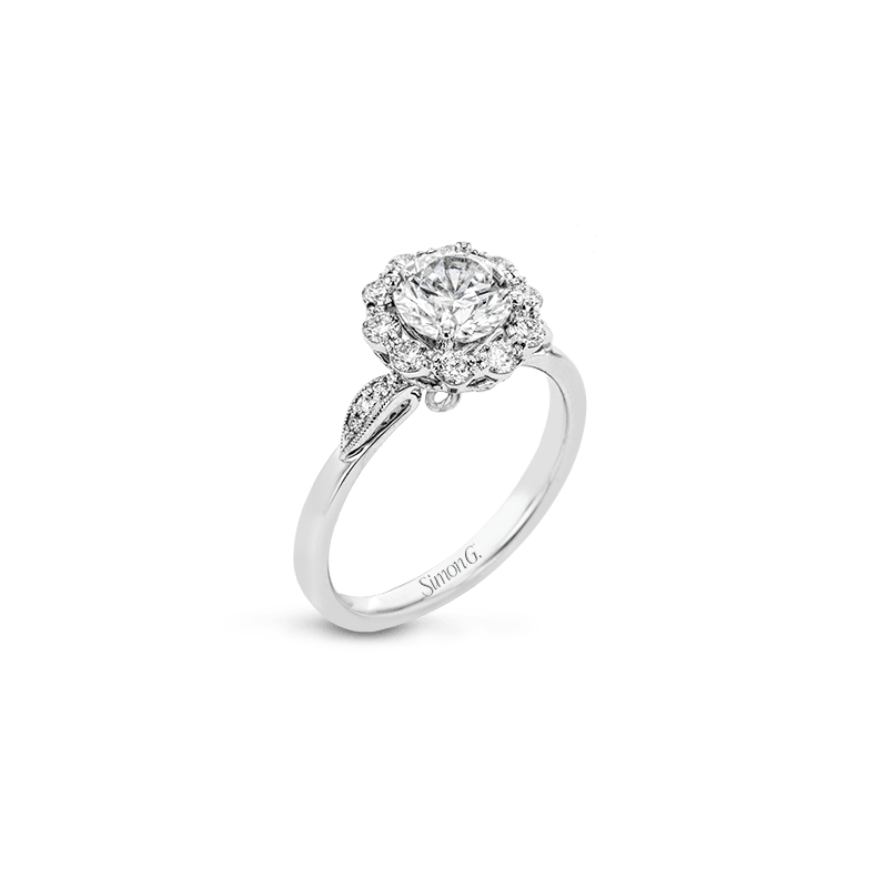 Simon G LR2138 ENGAGEMENT RING