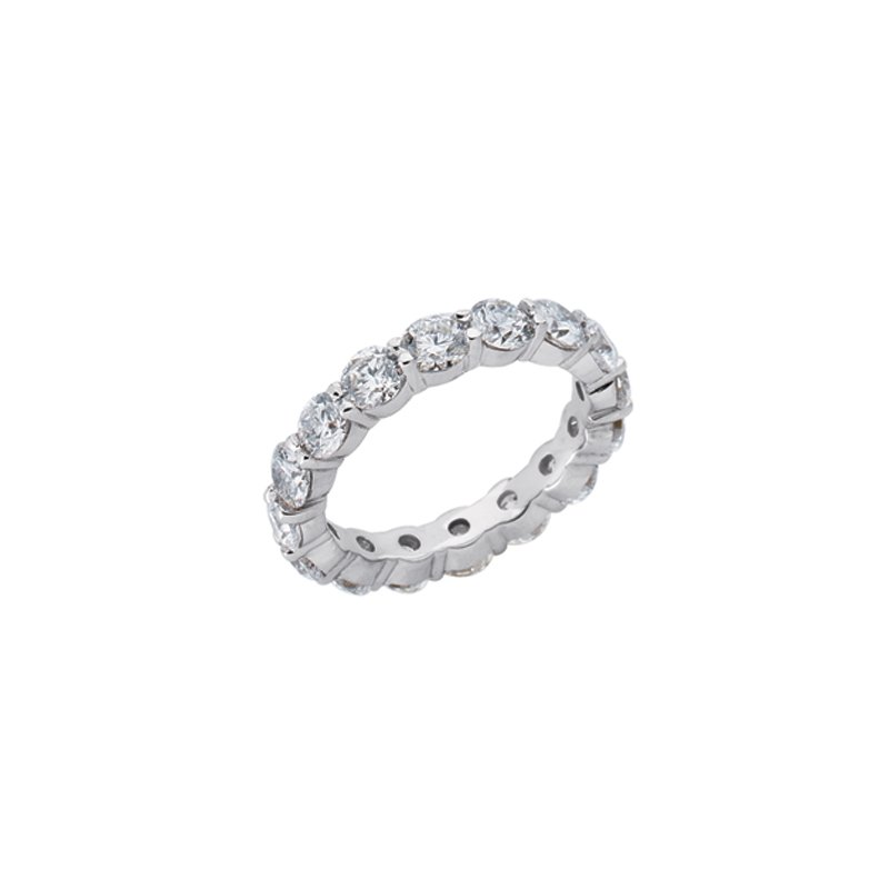 S. Kashi & Sons Bridal Plaitinum Eternity Band