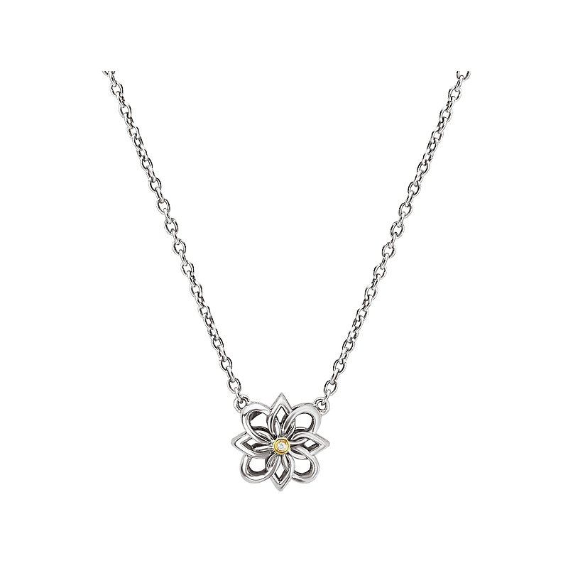 Eleganza Ladies Fashion Diamond Necklace