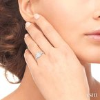 ASHI lovebright bridal diamond engagement ring