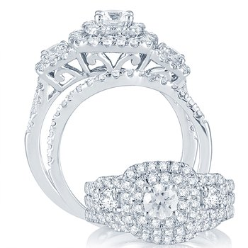 14K 2.00Ct Diamond  Bridal Ring