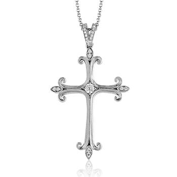 ZP796 CROSS PENDANT
