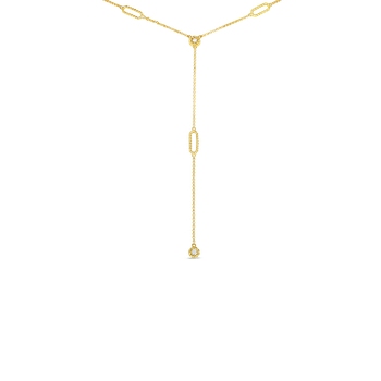 18Kt Gold Necklace With Diamonds