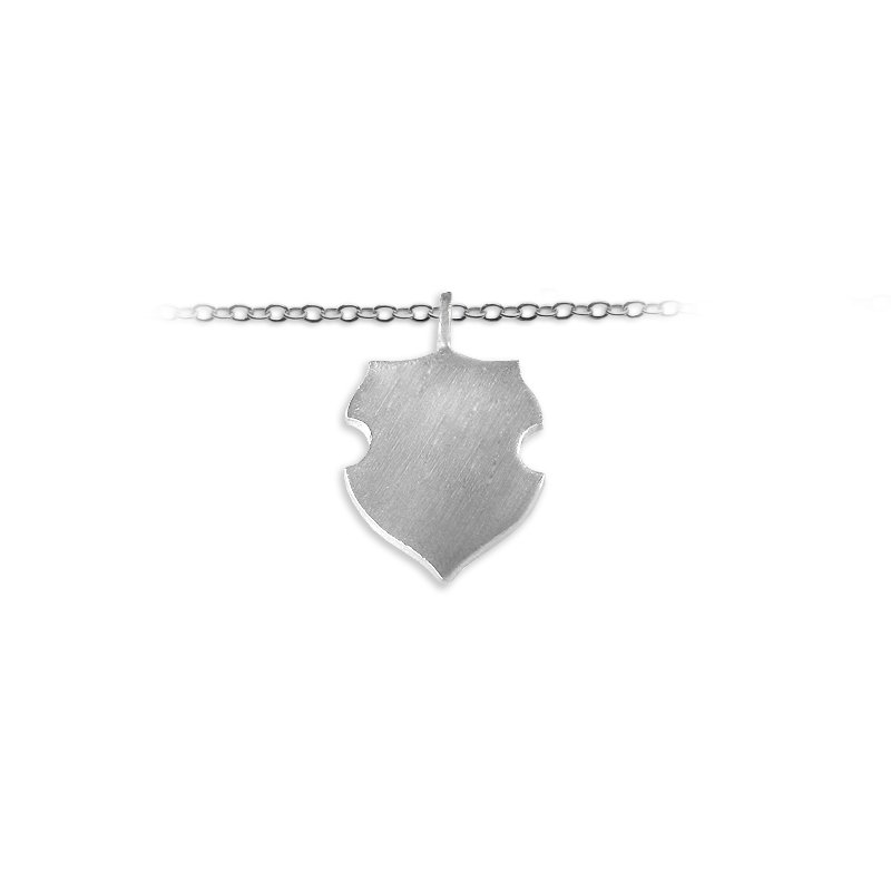 Slate & Tell 25mm Wave Shield Charm