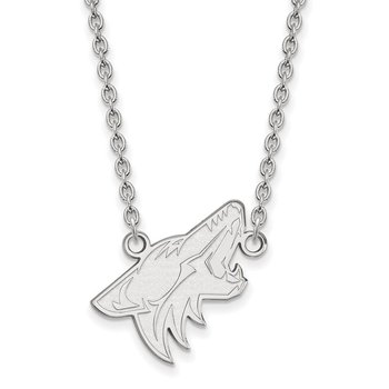 Gold Phoenix Coyotes NHL Necklace