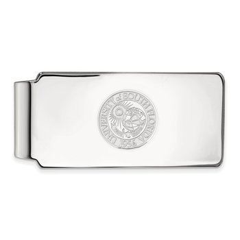 Sterling Silver University of South Florida NCAA Money Clip