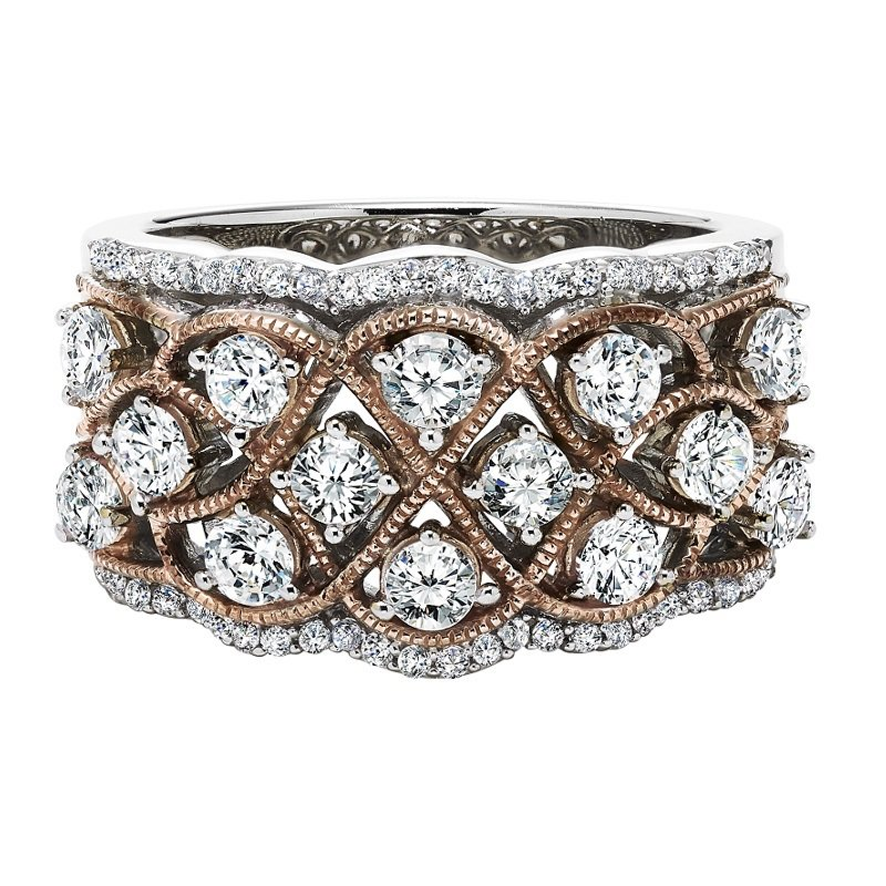 Bridal Bells 14K Diamond Band 1 1/2 ctw