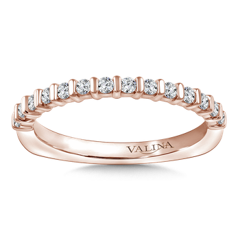 Stackable Wedding Band in 14K Rose Gold (.23 ct. tw.)