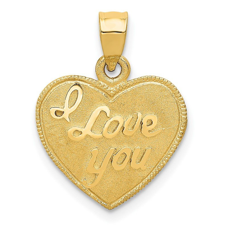 Quality Gold 14k Heart Pendant