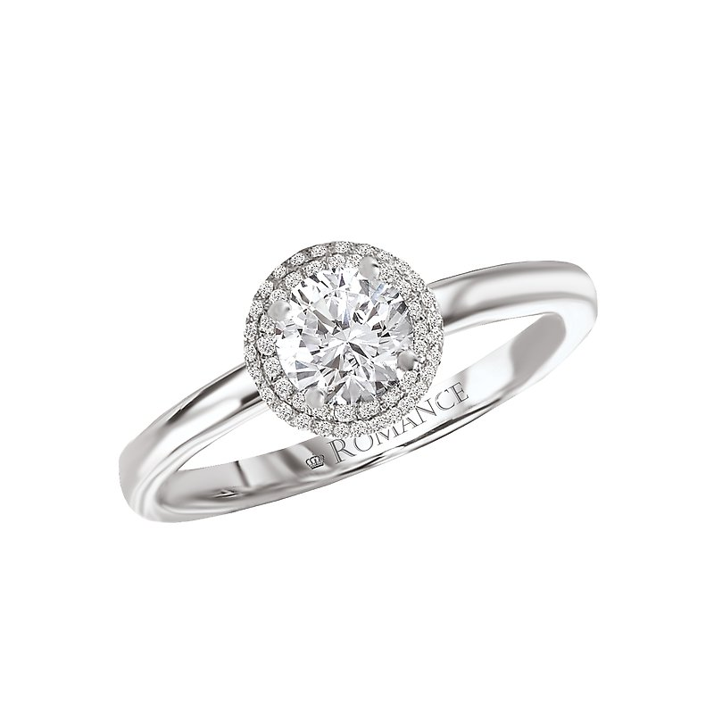 Romance Halo Complete Diamond Ring