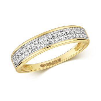 Diamond 2 Row Band