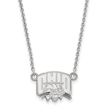 Gold Ohio University NCAA Necklace