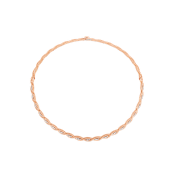 Collar With Diamonds &Ndash; 18K Rose Gold