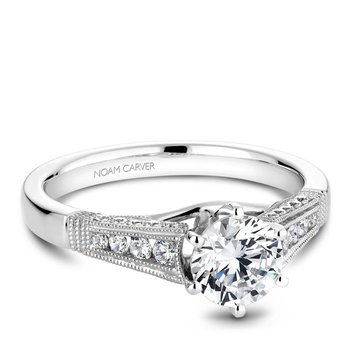 Noam Carver Vintage Engagement Ring B061-01A