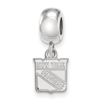 Sterling Silver New York Rangers NHL Bead