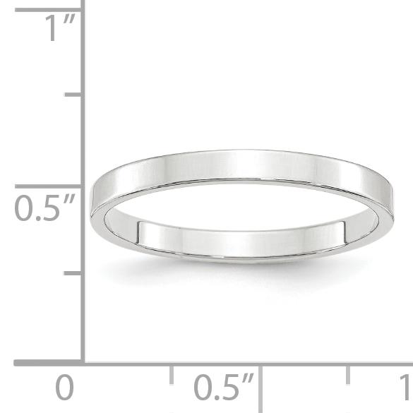 14KY 2.5mm LTW Flat Band