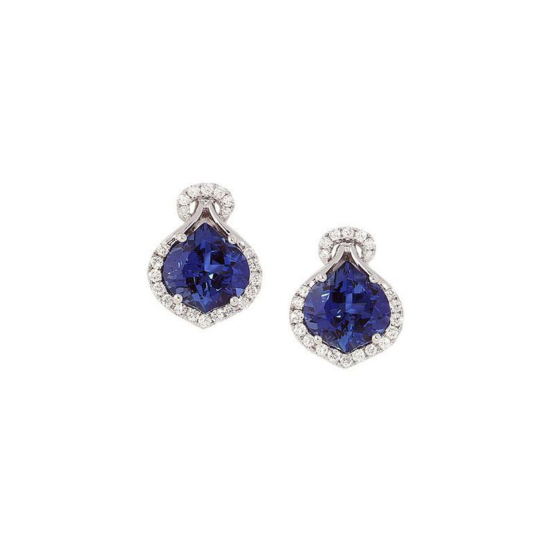 f67419c70 Chatham Blue Sapphire Earrings-CE3081WBS. Stock # CE3081WBS