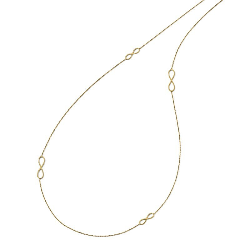 Leslie's Leslie's 14K Polished Infinity Necklace