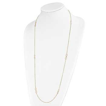 Leslie's 14K Polished Infinity Necklace