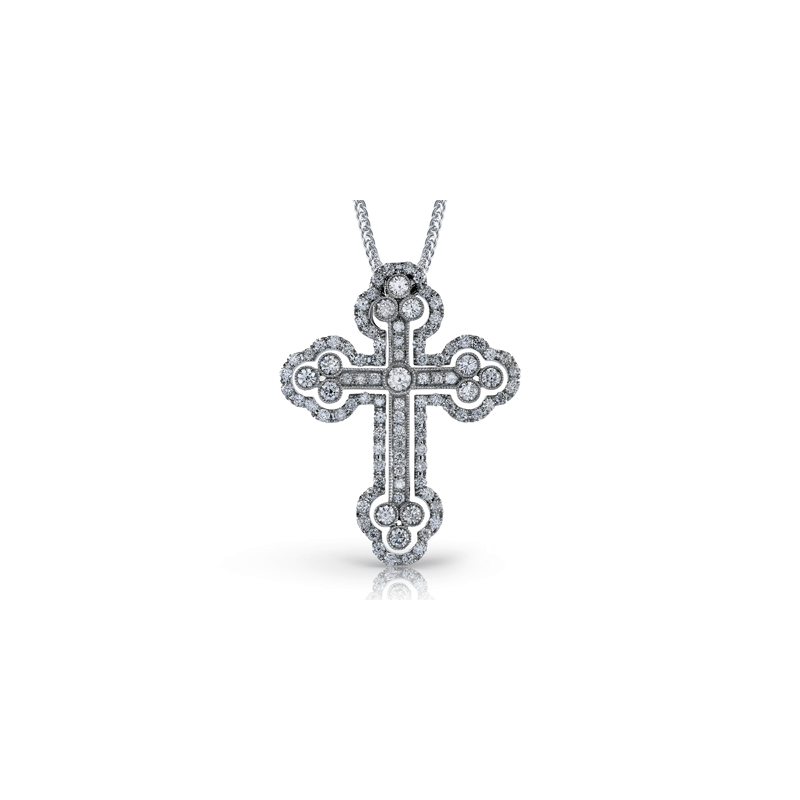 Simon G LP4075 CROSS PENDANT