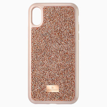 Glam Rock Smartphone Case, iPhone® X/XS, Pink Gold