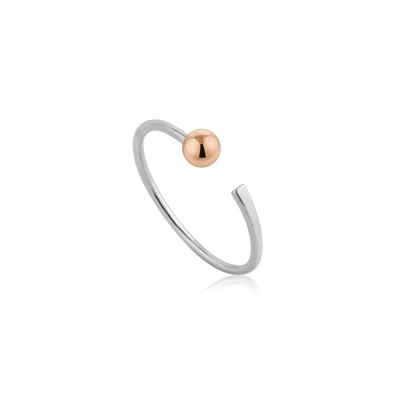 Ania Haie Orbit Flat Adjustable Ring