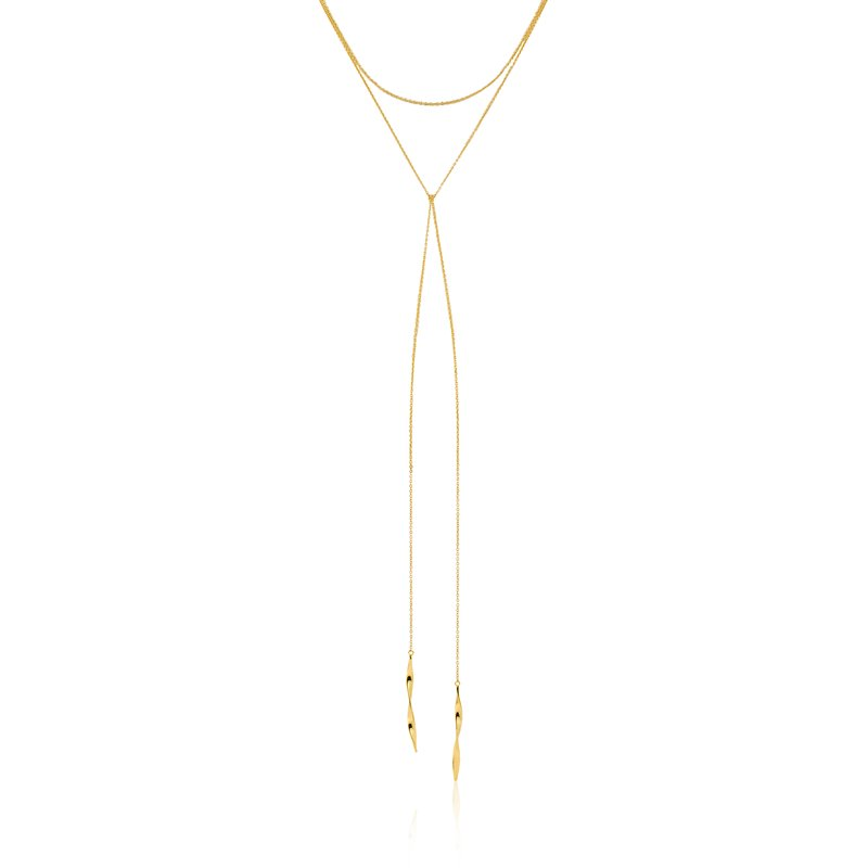 "Ania Haie Helix Lariat 16"" Necklace"