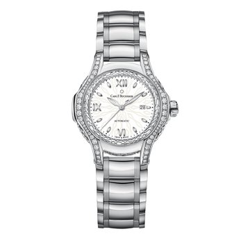 Pathos Diva 34mm Stainless and Diamond Womens Watch