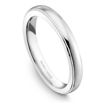 Noam Carver Wedding Band B026-01B