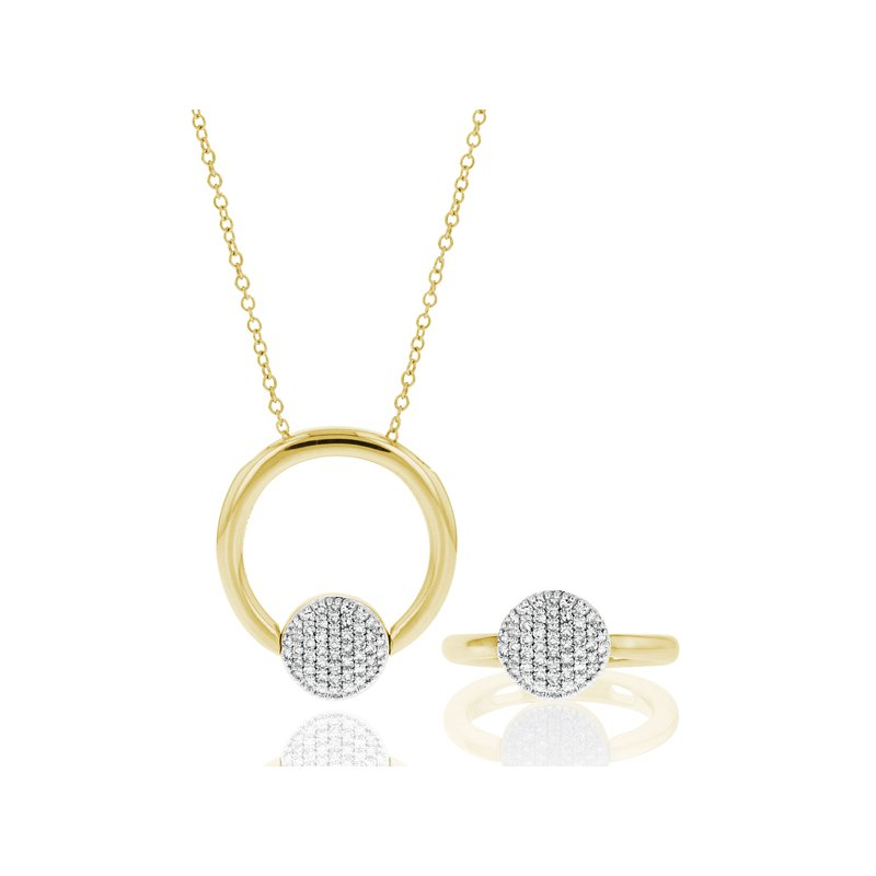 Phillips House Infinity Revolution Ring Necklace