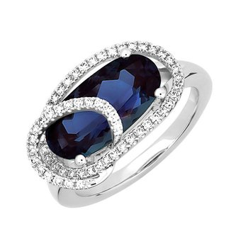 Alexandrite Ring-CR13110WAL