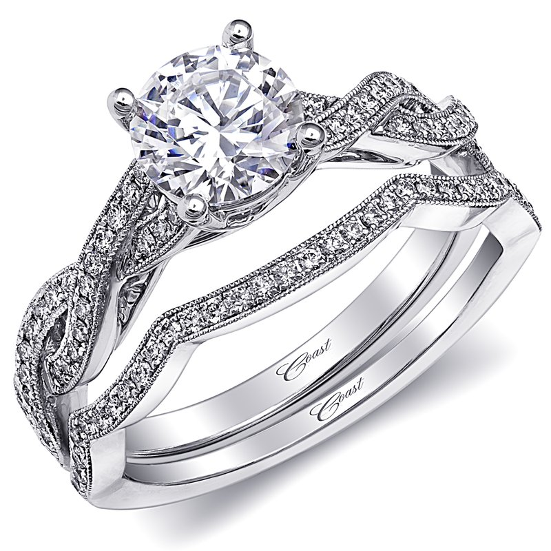 Coast Diamond Engagement ring