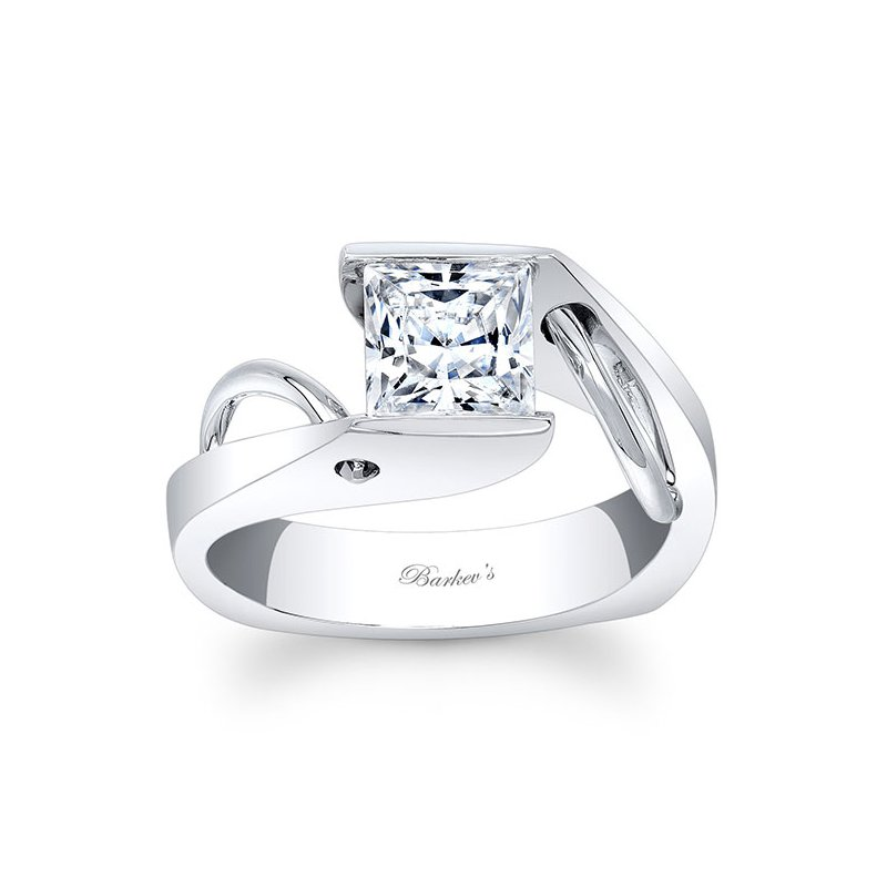 Barkev's Princess Cut Solitaire Ring