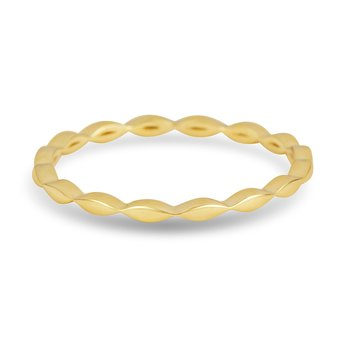 14K Yellow Gold Wedding or Anniversary Band