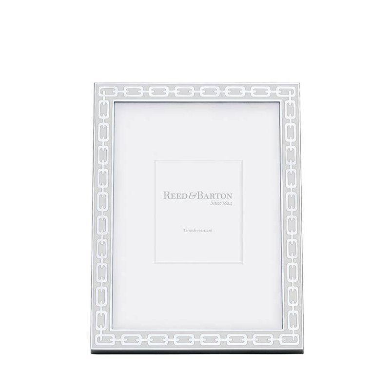 Radcliffe Jewelers Reed Barton White 4 X 6 Picture Frame