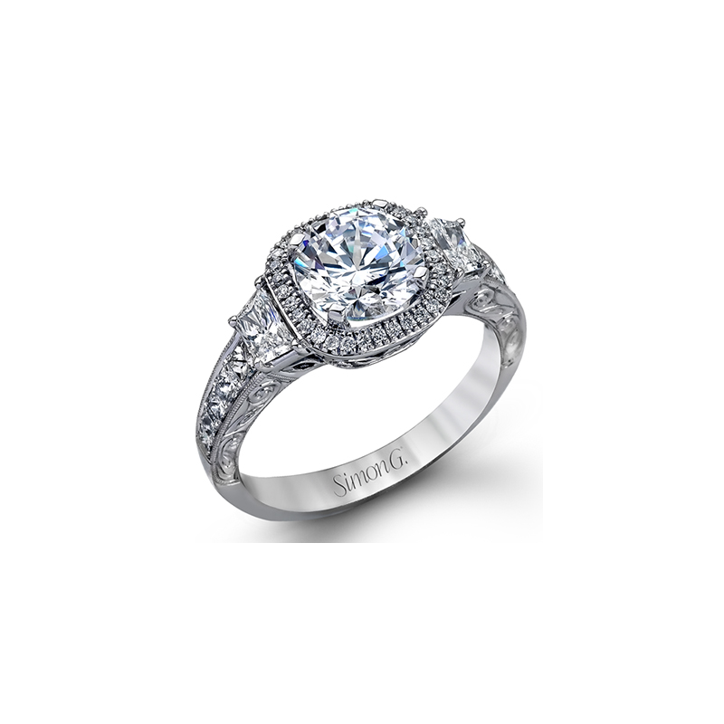 Simon G MR2404 ENGAGEMENT RING