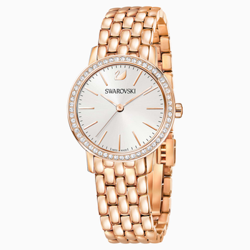 Graceful Watch, Metal bracelet, Rose-gold tone PVD